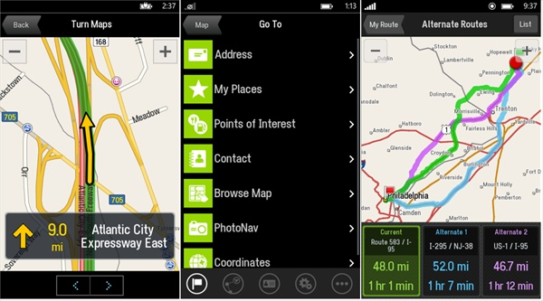 CoPilot app for Windows Phone