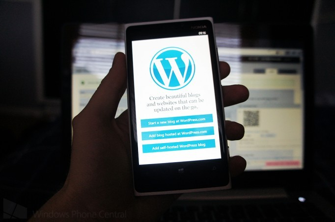 WordPress for Windows Phone gets a new update