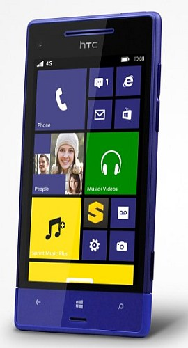 HTC 8XT front view