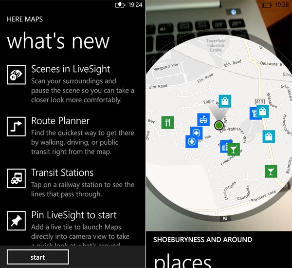 Nokia has updated HERE Maps for Windows Phone