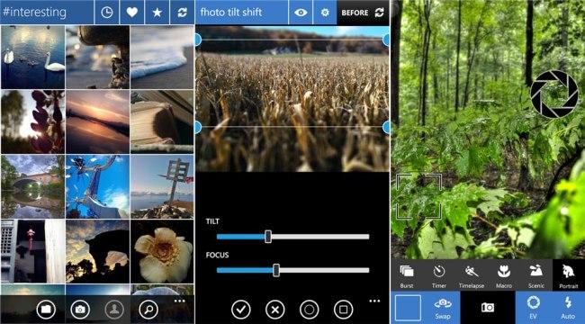 fhotoroom for Windows Phone 8 screens