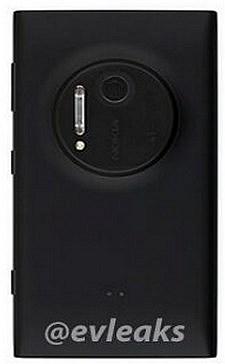 Nokia Lumia 1020 back side by evleaks