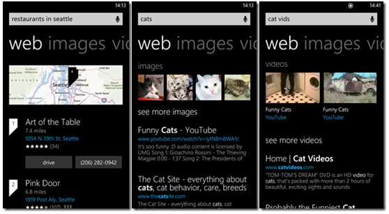 New design for Bing on Windows Phone 8 revealed by Microsoft