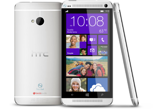 HTC to launch a Windows Phone version of its flagship HTC One