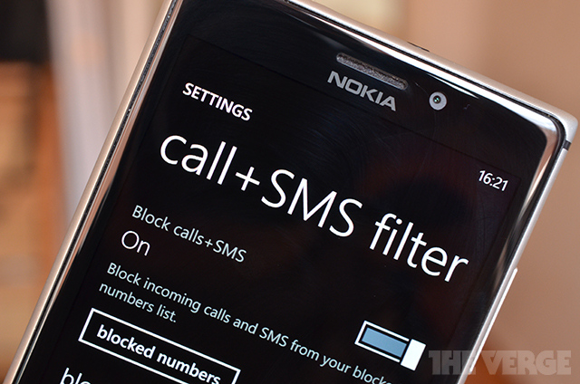 Latest Nokia update brings text and call blocking