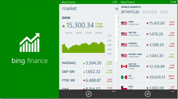 bing news app windows 8