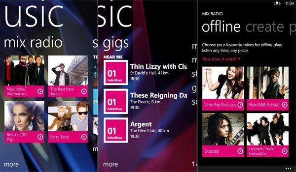 Приложение windows phone музыку