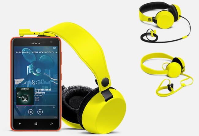Nokia Coloud headphones