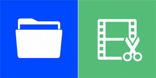 App Folder and Video Trimmer