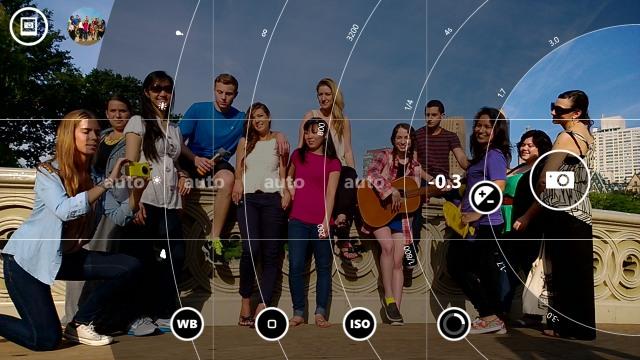 nokia pro cam app settings