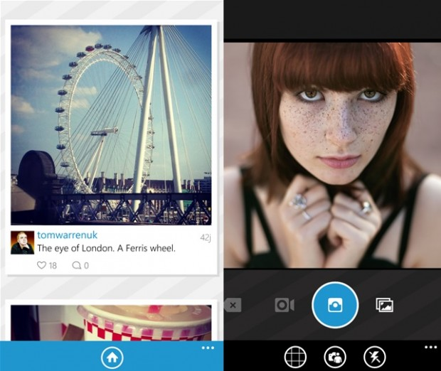 Windows Phone apps updated: Facebook, Instance, 6tag