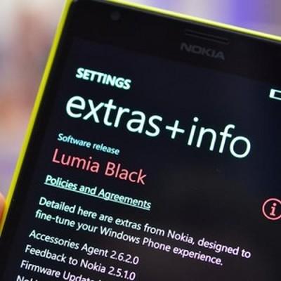 Nokia Black Windows Phone