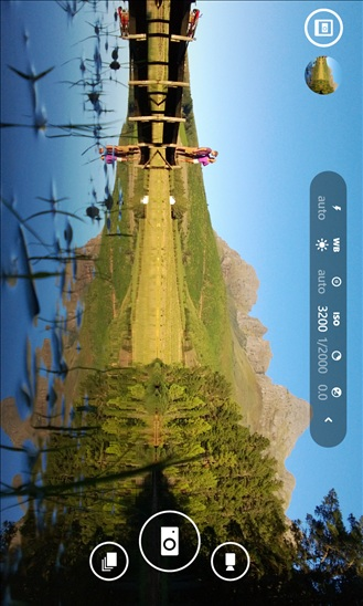 Nokia Camera app screen