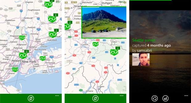 Foundbite for Windows Phone maps