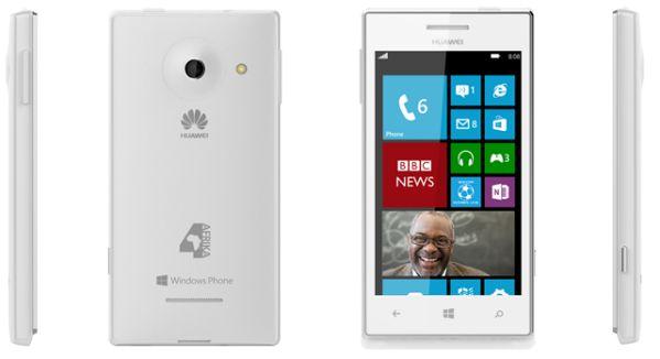 Huawei Ascend W1 design