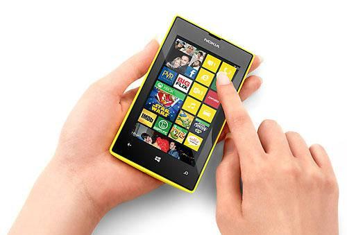 Lumia 525 shot
