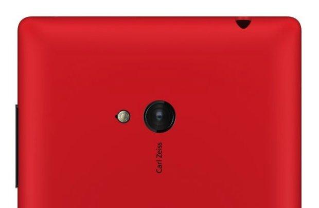 Lumia 520 backside and camera