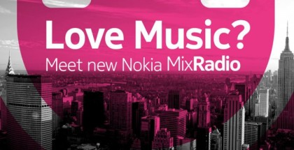 Nokia MixRadio for Windows Phone 8
