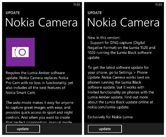 Nokia Camera for Windows Phone