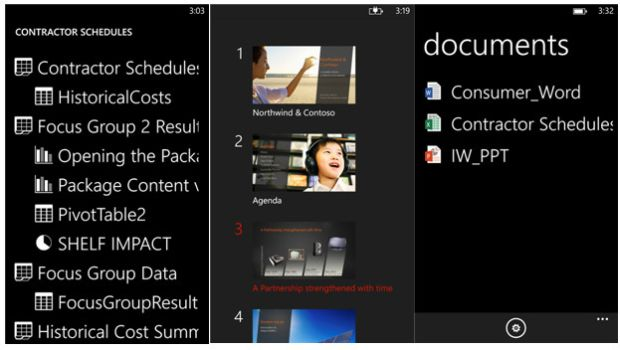 Office Remote for Windows Phone 8