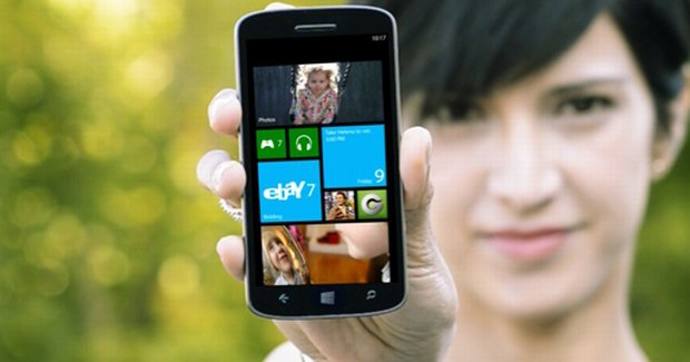 A Windows Phone device