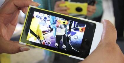 Lumia 1020 with Nokia Camera app