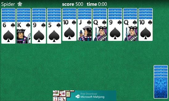 Solitaire for Windows Phone 8