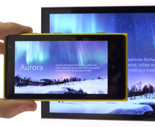 Nokia Beamer application