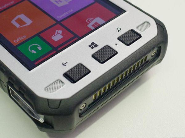 Panasonic ToughPad FZ-E1 running Windows Embedded 8 Handheld