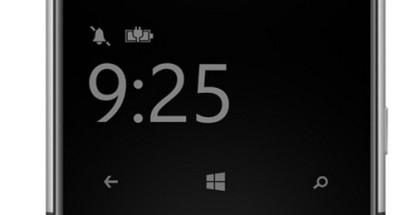 Nokia Lumia glance screen