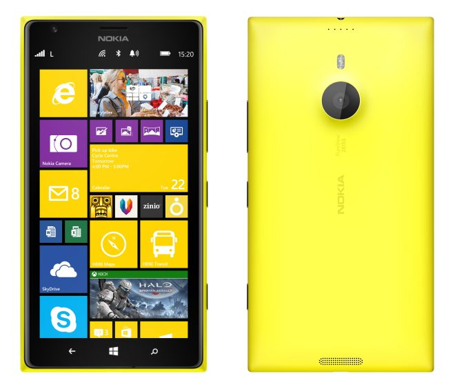 design of Lumia 1520