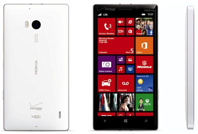 all sides of Nokia Lumia Icon