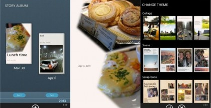 Story Album app for Samsung Windows Phone models