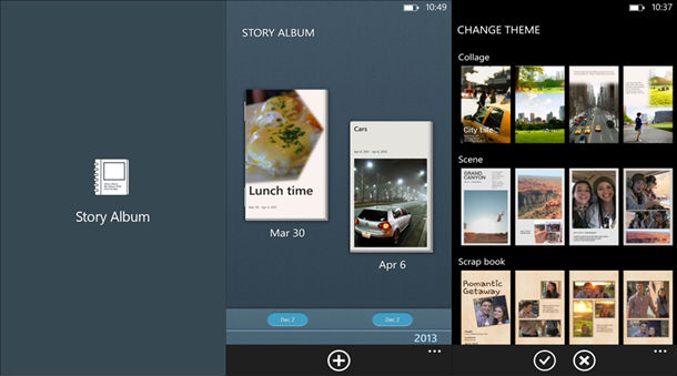 Samsung Released Story Album Exclusively For Ativ Windows Phones