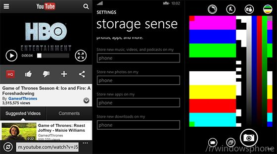storage sense windows phone 8.1