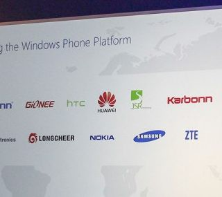 Microsoft announced 9 new Windows Phone hardware partners
