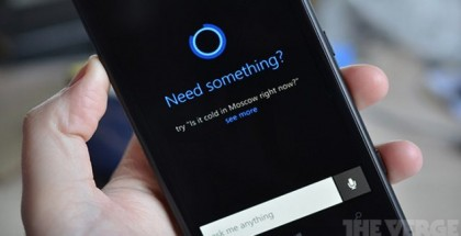 cortana first look