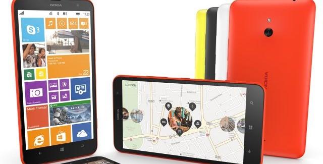 Lumia 1320 group shot main