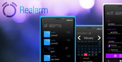 realarm app for windows phone