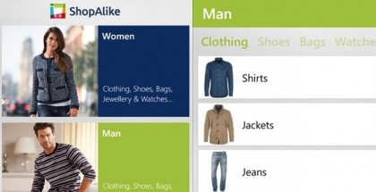 shopalike windows phone 8