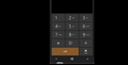 Phone app dialer windows phone 8.1