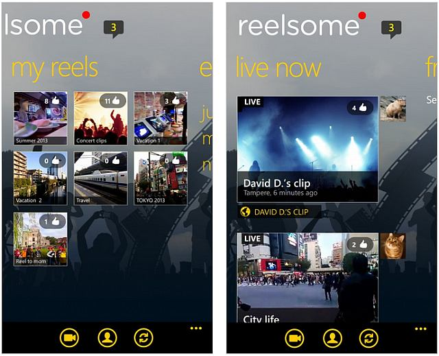 reelsome app for video streaming