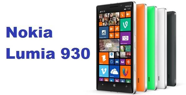 Nokia Lumia 930 all colors