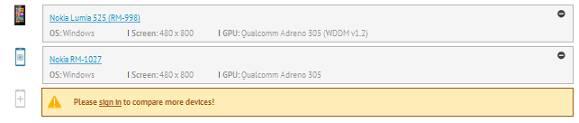 gfx benchmark lumia 530