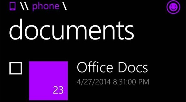 Files: Official File Manager for Windows Phone