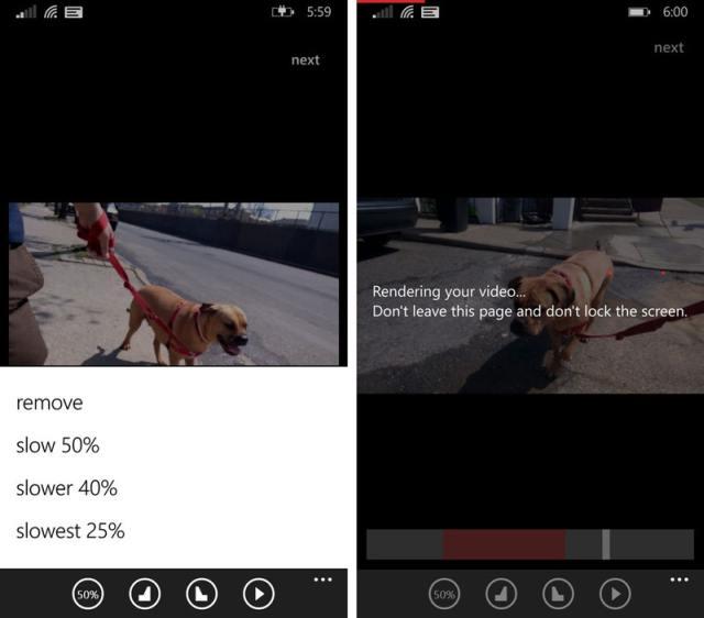 Slowly app screenshots