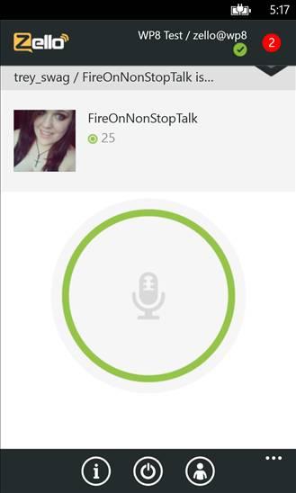 Zello voice and text app
