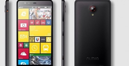 ZTE Nubia W5 smartphone with Windows Phone 8.1