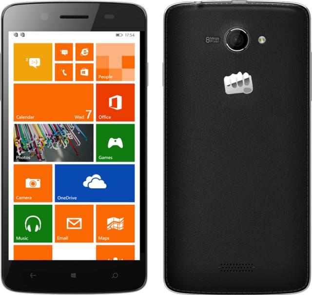 Micromax Canvas Win W121 smartphone