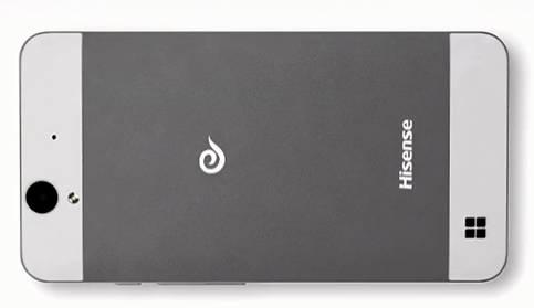 Hisense Windows Phone back side